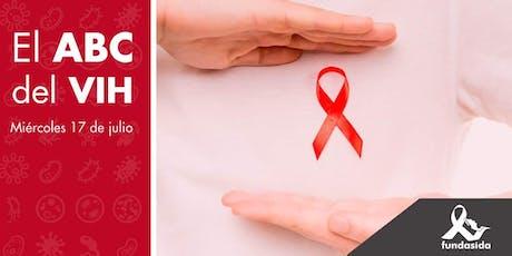 Charla el ABC del VIH boletos