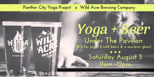 Yoga and Beer at Wild Acre Brewing Company