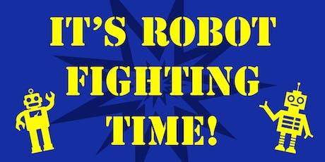 Robot Battles LIVE! tickets
