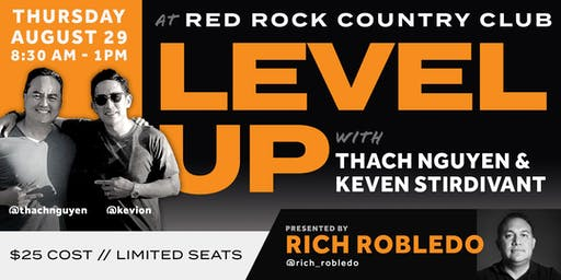 LEVEL UP featuring Thach Nguyen & Keven Stirdivant