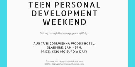 Teen Personal Development weekend.  tickets