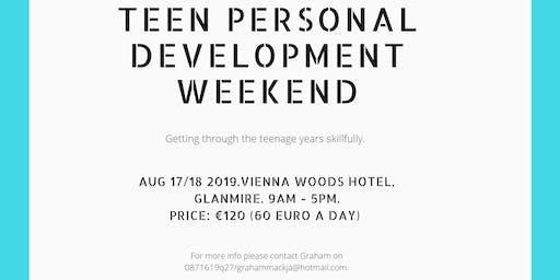 Teen Personal Development weekend.