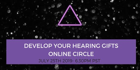 Develop Your Hearing Gifts Online Circle tickets
