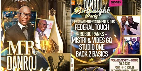 CLASSY & FABULOUS Mr Danroj LEO & VIRGO  Champagne & Brandy Edition tickets