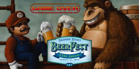 Dauphin Street Beer Fest at Game Over Retro Pub tickets