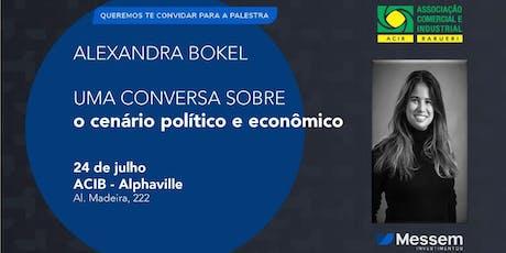 Palestra gratuita: Uma conversa sobre o cenário político e econômico ingressos