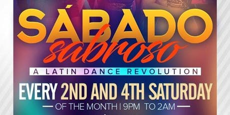 SÁBADO Sabroso - A Latin Dance REVOLUTION tickets