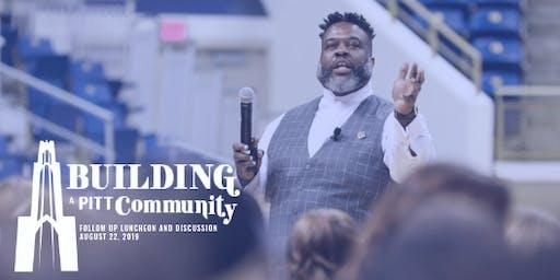 Building a Pitt Community - Dialogue & Luncheon