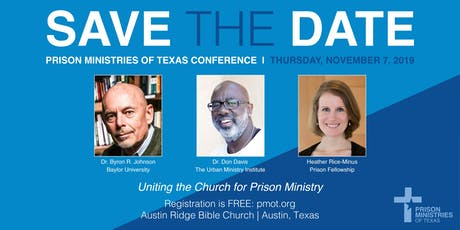2019 Prison Ministries Conference tickets