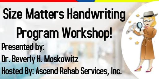 Time-Saving and SMHP Workshops/Practical School-Based Strategies for OT's