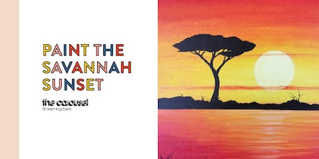 PAINT THE SAVANNA SUNSET: Bloomingdale's San Francisco tickets
