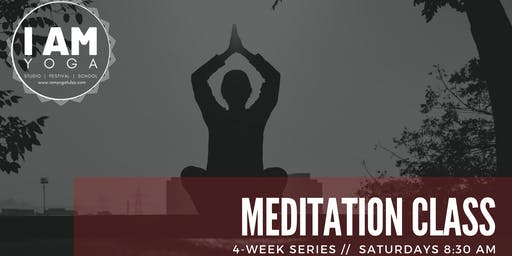 4-week Meditation Series