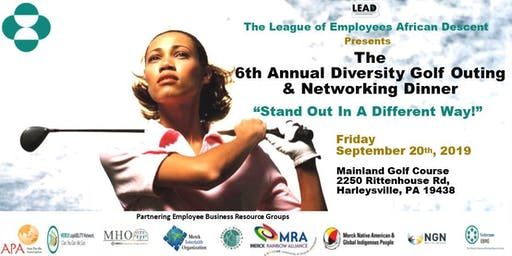 The 6th Annual Diversity Golf Outing & Networking Dinner