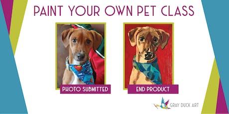 Paint Your Own Pet | Champlin Pour Wine Bar & Bistro tickets