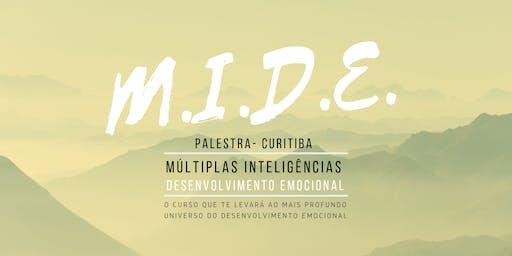 Palestra MIDE 3 - Múltiplas Inteligências e Desenvolvimento Emocional 01/08