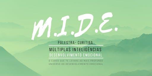 Palestra MIDE 4 - Múltiplas Inteligências e Desenvolvimento Emocional 02/08