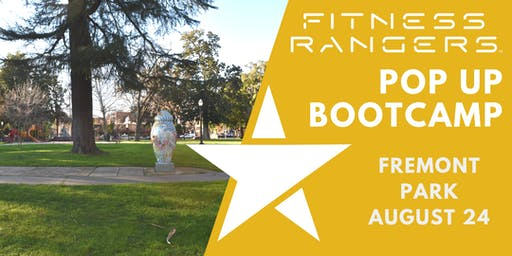 Fitness Rangers Pop Up Bootcamp: Fremont Park