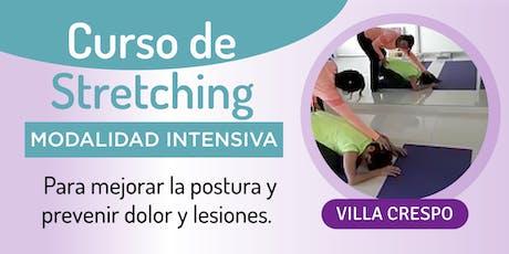 Curso de Streching -intensivo-  para mejorar la postura y prevenir dolor entradas