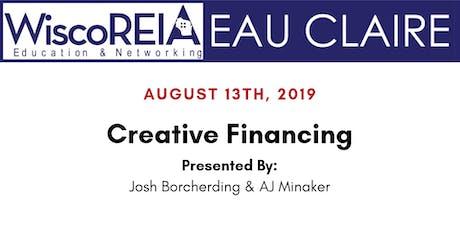 WiscoREIA's Eau Claire Meeting - August 2019!  tickets