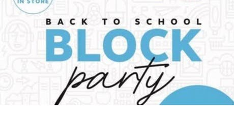 Staples Block Party tickets