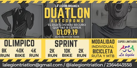 Duatlon La Legion - Autodromo de Junin entradas