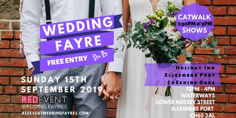 Cheshire Wedding Fair at The Holiday Inn Ellesmere Port / Cheshire Oaks tickets