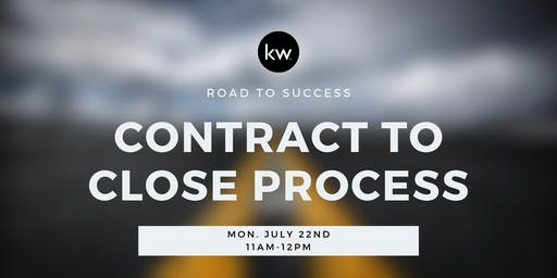 Road to Success: Contract to Close w/Amanda
