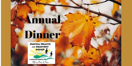 Mental Health & Recovery Board Annual Dinner 2019 tickets