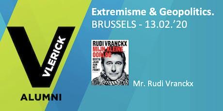 Extremisme en Geopolitiek. tickets