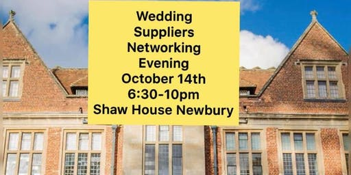 Wedding Suppliers Networking Evening