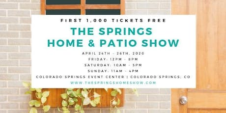 The Springs Home & Patio Show tickets