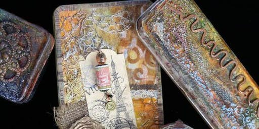 Altered Art Tin with Lorra Lee Rose