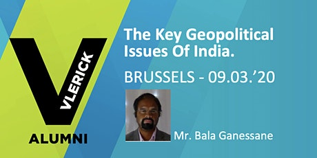 The Key Geopolitical Issues of India. tickets