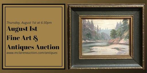 August 1st Fine Art & Antiques Auction