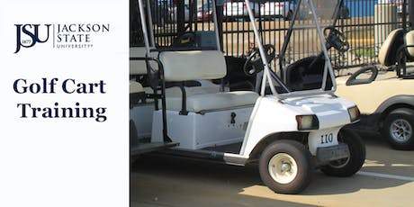 JSU Golf Cart Operation & Safety Training tickets