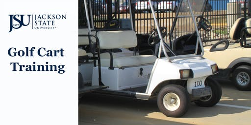 JSU Golf Cart Operation & Safety Training