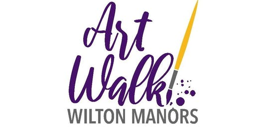 Artist Placement & Fees for Art Walk Wilton Manors, Saturday, October 19h