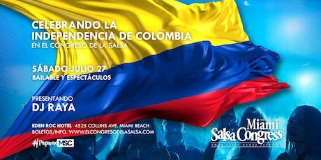 Celebrando La Independencia de Colombia en El Congreso de Salsa  tickets