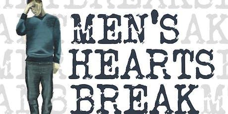 Creative Assistance request  for Men's Heart's Break Project tickets