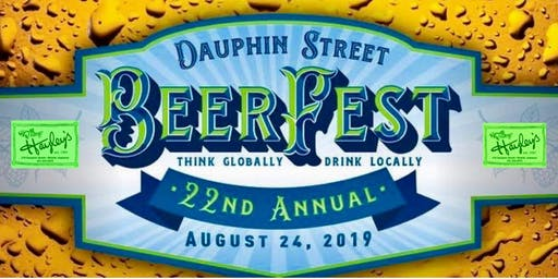 Dauphin Street Beerfest starting at Hayley's