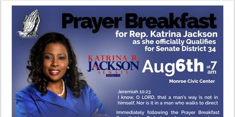 Prayer Breakfast for Senate District 34 tickets