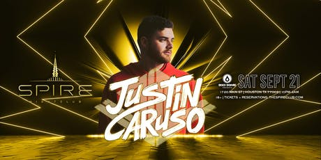 Justin Caruso / Saturday September 21st / Spire tickets