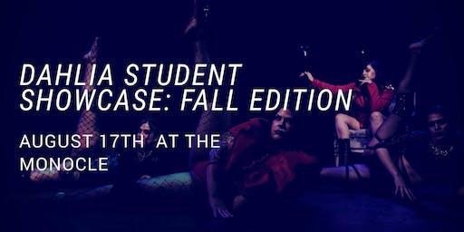 Dahlia Student Showcase: Fall Edition