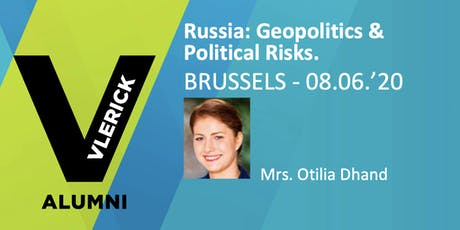 Russia, geopolitics and political risks. And why it matters for your business. tickets