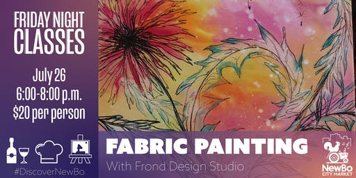 Fabric Painting ft. Frond Design Studio (Classes at NewBo)