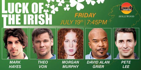 Theo Von, David Alan Grier, and more - Luck of the Irish! tickets