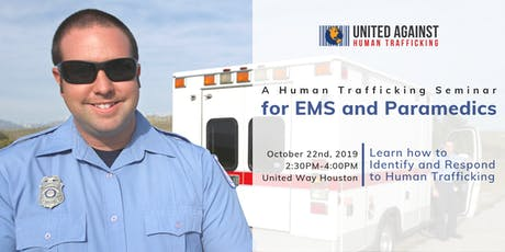 A Human Trafficking Seminar for EMS and Paramedics tickets