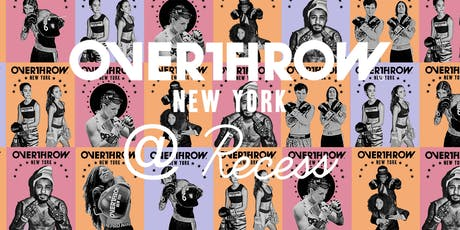 Glove Up! Intro To Boxing with Overthrow New York x  Recess tickets