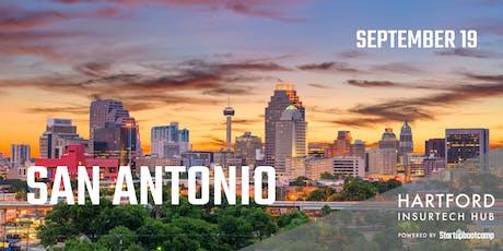 San Antonio FastTrack - Hartford InsurTech Hub powered by Startupbootcamp  tickets