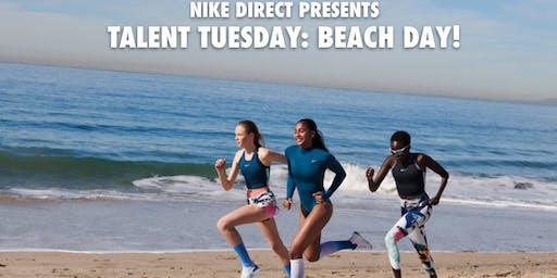 Talent Tuesday: Nike Beach Day